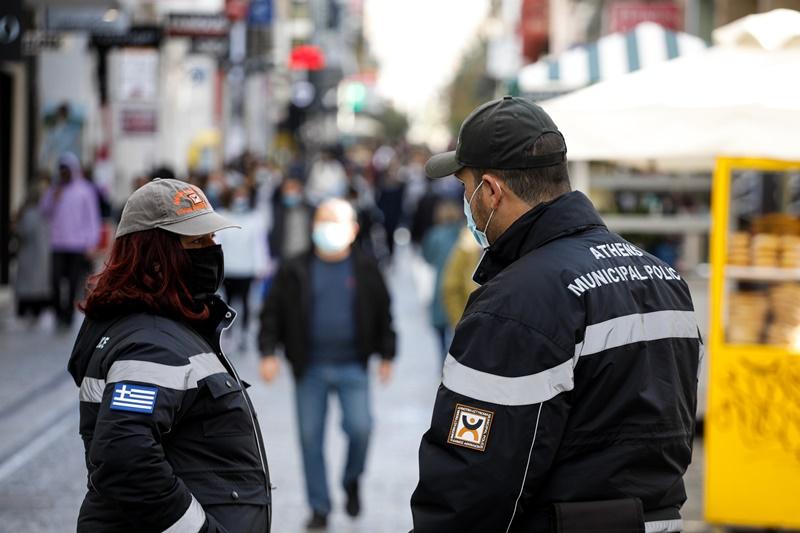 Ερμού αστυνομία